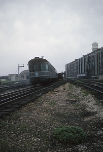 2016.020.20.22--jim neubauer 35mm kodachrome--NYC--obs-lounge car on hind end The Century passenger train--South Bend IN--1963 0500