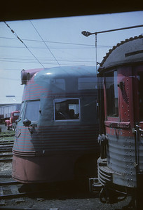 2016.020.16.12--neubauer 35mm kodachrome--CNS&M--Electroliner and Silverliner poscene--location unknown--1962 0600