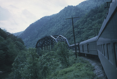 2016.020.23.11--jim neubauer 35mm kodachrome--SOU--view from Carolina Special passenger train en route to Asheville--location unknown--1968 0500