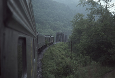 2016.020.23.07--jim neubauer 35mm ektachrome--SOU--view from Carolina Special passenger train en route to Asheville--location unknown--1968 0500