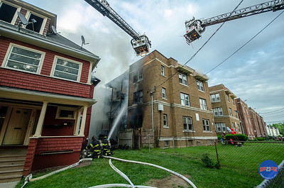 2 Alarm Structure Fire - 232 South Marshall St, Hartford, CT - 6/9/18