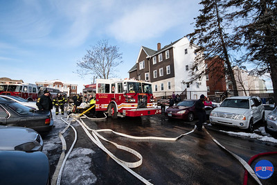 2 Alarm Structure Fire - 820 Wethersfield Ave, Hartford, CT - 3/7/19