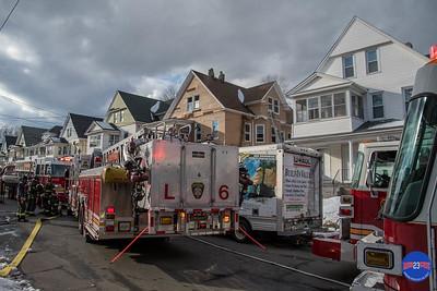 Structure Fire - 104 Barker St, Hartford, CT - 2/13/19