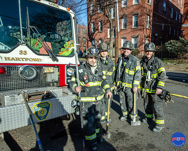 Structure Fire - 146 Lawrence St, Hartford, CT - 12/23/18