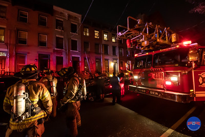Structure Fire - 332.5 8th St, Jersey City, NJ - 8/17/19