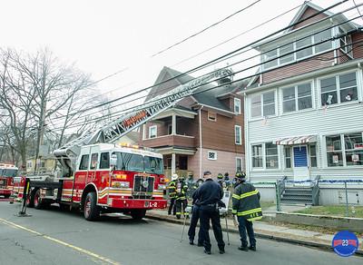 Structure Fire - 351 Hillside Ave, Hartford , CT - 12/3/18