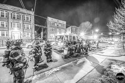 Structure Fire - 400 Garden St, Hartford, CT - 2/27/19
