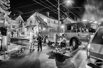 Structure Fire - 569 Power Rd, Pawtucket, RI - 11/19/18