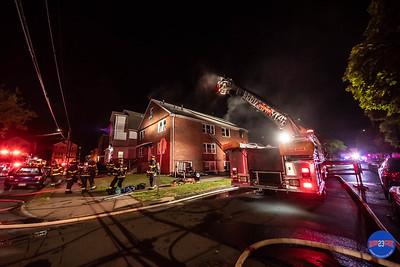 Structure Fire - 166 Roosevelt St, Hartford, CT - 6/10/19