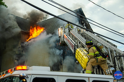 2 Alarm Structure Fire - 21 Wallace St, New Britain - 6/15/19