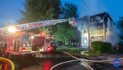 Structure Fire - 67 Martin St Hartford, CT - 5/31/18