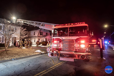 Structure Fire - 80 Hawley St, Newington, CT - 3/12/19