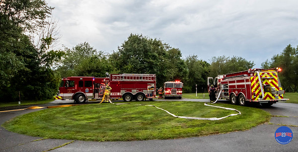 Structure Fire - 26 Highmark Rd, Litchfield, CT - 8/3/19