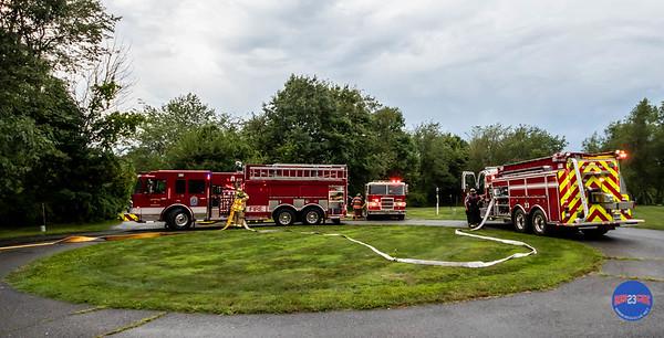 Structure Fire - 26 Highmark Rd, Litchfield, CT - 8/3/19