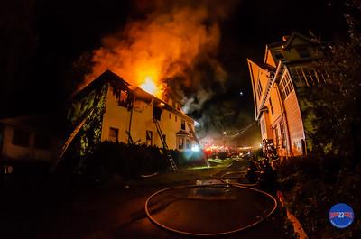 Structure Fire - 131 Tremont St, Hartford, CT - 8/25/19