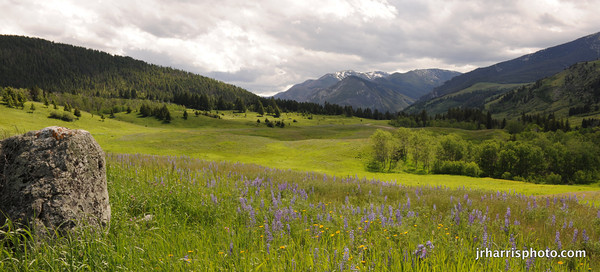West Boulder River Valley Montana