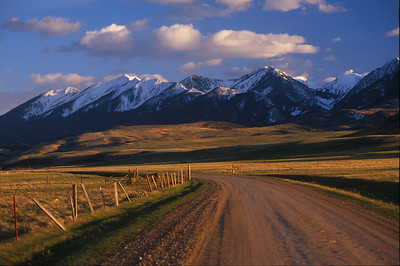 Absaroka Mountains Montana