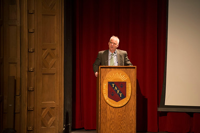 Albert Family Holocaust Study Fund Yom HaShoah Morning Meeting speaker Jim Waller