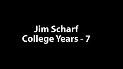 Jim Scharf College 7