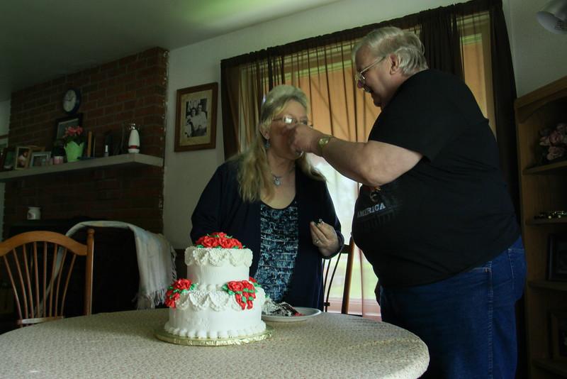 Jim and Linda Gibbs 50th Wedding Anniversary