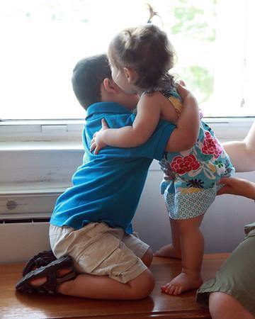 A little hug!