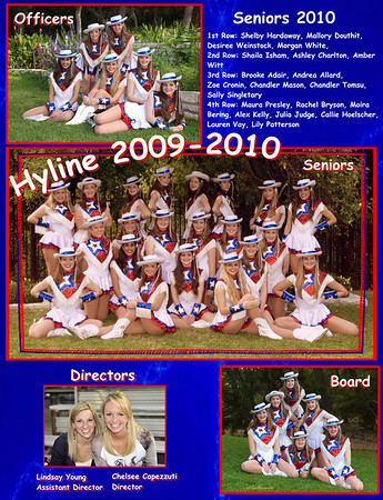 Hyline in Yearbook 2010
