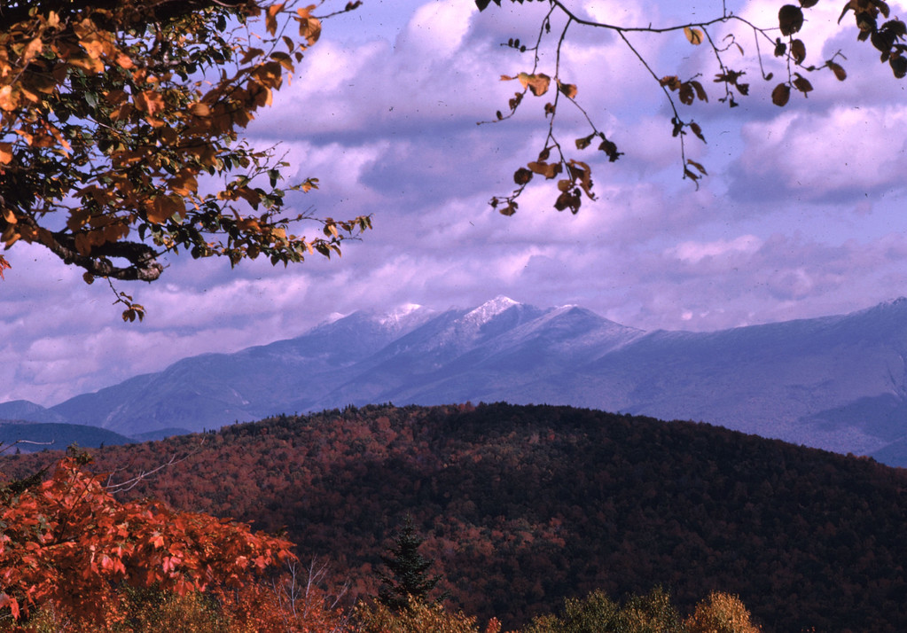 Winter is coming in the high mountains.