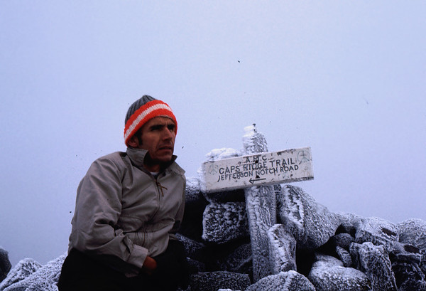 It does get cold in late September on Mt. Jefferson and the Appalachian trail!