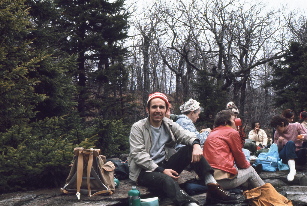 For several years, my sons (or friends) and I hiked the annual Appalachian Mount Club (AMC) Wapack trail hike in three sections on consecutive weekends. Parked at the far end of each hike were autos ('sag wagons') to ferry returning hikers.