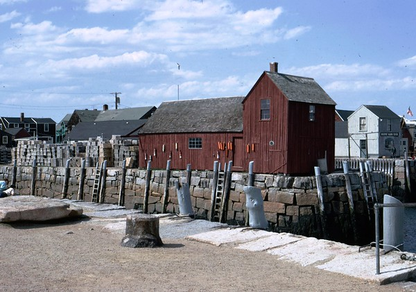 """On a visit to Rockport MA, I took this photo as a token to all who came before and will follow. Motif #1 - """"located on Bradley Wharf in the harbor town of Rockport, Massachusetts, is a fishing shack well known to students of art and art history as """"the most often-painted building in America."""" [Wikipedia]"""