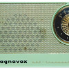 One of the first ever transistor radios - a gift to members of the Magnavox Chorus for producing a vinyl record of Christmas music for Sales Offices. Circa 1958. No integrated circuits, just 'discrete components'