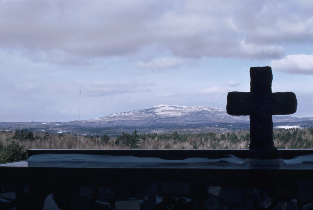 "Mt Monadnock, NH as seen from the Altar of the 'Cathedral of the Pines'. The cathedral is an outdoor place of worship for all faiths.<br /> <a href=""http://www.cathedralofthepines.org/home"">http://www.cathedralofthepines.org/home</a>"