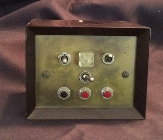 I designed and built this Audio Control Box ['Device'] to support bedtime listening. Coupled with a timer (then an electromechanical time clock) it was used to determine the sound level [hi/lo] and whether the radio would come on in the morning. One switch controlled a bed side lamp. Sixty years later I am using earbuds, iPod, Bluetooth and  WiFi Internet radio.