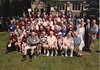 Celebrating my 50th Mount Hermon Reunion at the former Northfield campus of what is now Northfield-Mount Hermon (NMH). I am in third row from the front, circled.
