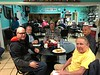 A few of the  'Men of Grace' Church meet on Fridays at 8am for breakfast at the South Side Cafe in Paris TN.
