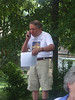 I enjoy Public Speaking and so was reading the Declaration of Independence on July 4, 2008 at a Grace Church picnic. I was using my cell phone to verify the document contents with a British contact (Circa 1776).