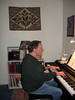 This is a Kurzweil Mark V Ensemble Grand digital piano I have owned for about 15 years. This instrument has more talent than I do.