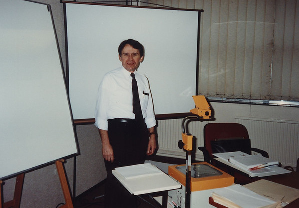 While employed by General Radio (later GenRad), I taught statistical quality control (SQC) courses for production personnel. <br /> I was at Jaguar in Manchester, England preparing for course in statistical quality control  as part of a joint venture.