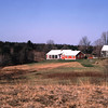 View of the Garrigan home from a hill in the fields behind the house.