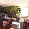 A bedroom in our Westford MA home became my office. The scene wallpaper was installed my Mary and Frank Lacey. My retirement business started in 1969- database development for PCs, JAMAR Associates, was managed here.