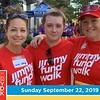 The 31st annual Boston Marathon® Jimmy Fund Walk on Sunday September 22nd, 2019.<br /> <br /> DFCI 5k start, Backstage Photo Booth Photos