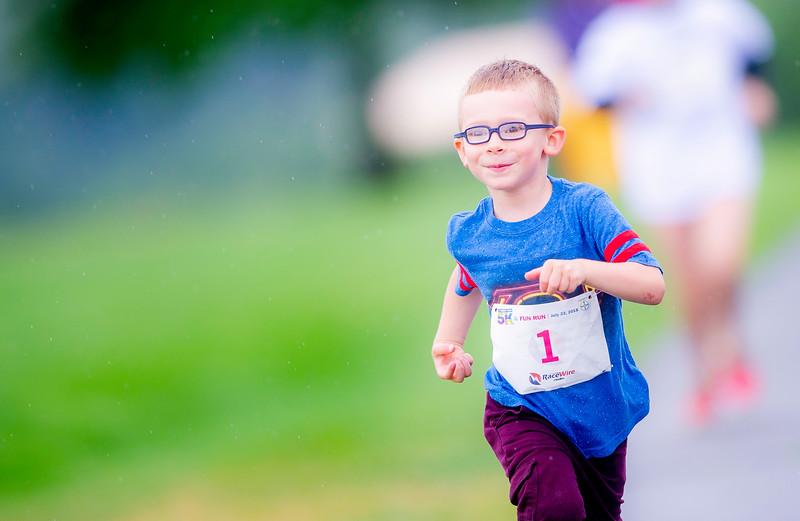 Jimmy Fund 5K And Fun Run FY18 July 22 2018 Millennium Park Boston, MA