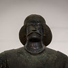 A bronze statue of a man believed to be General Surena dating back to 200 BC.