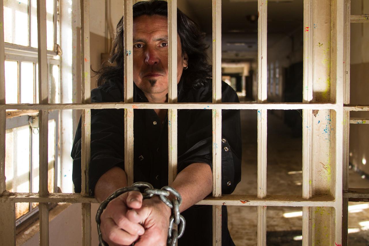 old santa fe prison behind bars