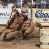Girl barrel racer Cave Creek Rodeo 30 March 2014 _