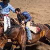 Rescuing a cowboy Cave Creek Rodeo 30 March 2014_