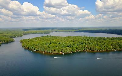 Two Sisters Lake Oneida County WI.