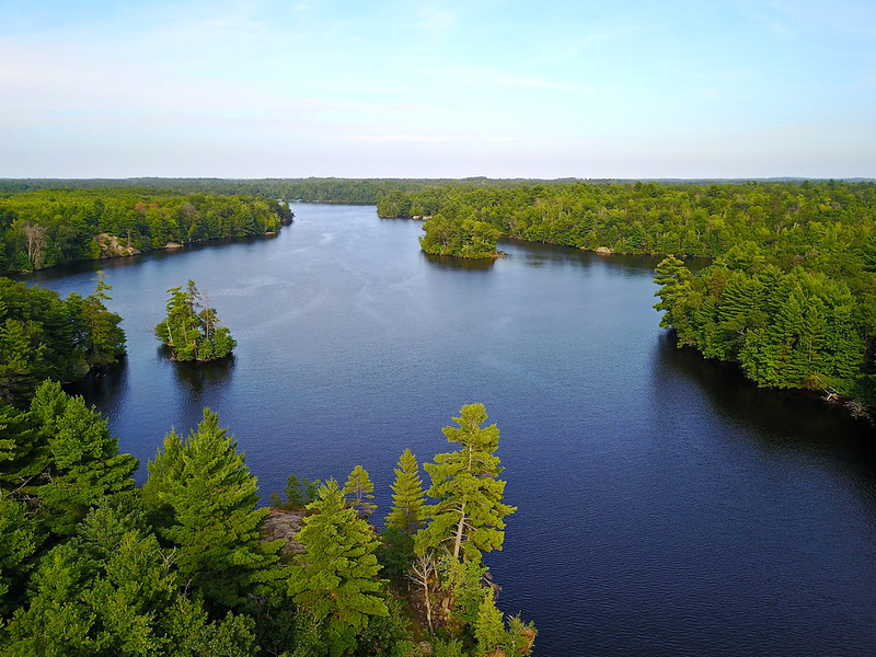 High Falls Reservoir Peshtigo River Marinette County Wisconsin