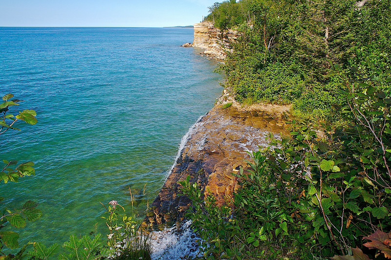 Pictured Rocks National Lakeshore...Spray Falls