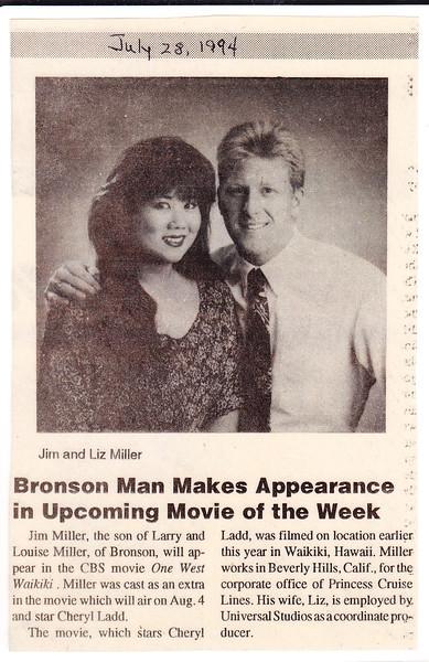 Jim stars in Movie of the week One West Waikiki